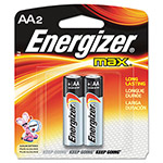 Max® Alkaline AA Batteries, Pack Of 2
