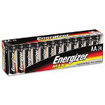Max® E91SF-24 Alkaline Batteries, AA