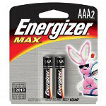 Max® E92BP2 Alkaline Batteries, AAA
