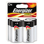 Max® E95BP-4 Alkaline Batteries, D