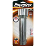 Eveready Energizer 5 LED Metal Flashlight, Silver