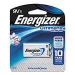 Energizer Lithium Batteries, 9V, 12/Pack