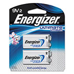 Energizer Lithium Batteries, 9V, 2/Pack