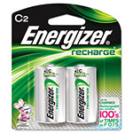 Energizer NH35BP-2 NiMH Rechargeable Batteries, C