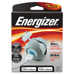 Energizer USB Premium Wall Charger, AC/Apple-Certified Dock Connector
