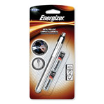 Eveready Aluminum Pen LED Flashlight, Two AAA Batteries, Black