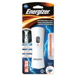 Eveready Rechargeable LED Flashlight, Silver/Gray