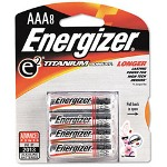 Energizer e² X92RP-8 ium Technology Batteries, AAA