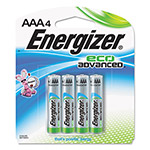 Energizer Eco Advanced Batteries, AAA, 4/Pk