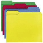 Smead Folders,Letter,1/3 Cut,24/BX,Assorted