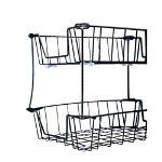"Rolodex Tray Stackers, 8"" High, Black"