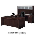 "Basyx by Hon Rectangular Desk Shell, 72"" x 36"" x 29-1/2"", Mahogany"