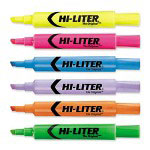 Avery Highlighter, Chisel Point, 1/PK, Fluorescent Yellow