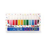 Shachihata. U.S.A. Bullet Acrylic Fiber Tip Watercolor Markers, 12/Pack Assorted