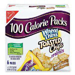 Marjack 100 Calorie Snack, Wheat Thins, .74 Ounce