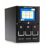HSM Digital Hard Drive Shredder, Erases ATA/IDE and SATA, Black