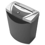 "HSM HSM 1004113 Document Shredder, Cross Cut, 13 3/10"" x 8 1/5"" x 16"", Grey/Silver"