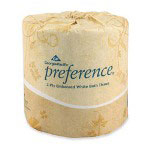 Georgia Pacific Preference® Embossed 2-Ply Bulk Bath Tissue, White