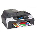 Brother MFC5890CN Monochrome AllInOne Inkjet Printer with Networking