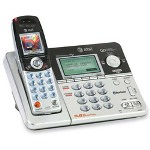 AT&T Telephone, w/Answering Sys., 5.8GHz, Cordless, CID/CW, Black/Silver