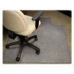 "Lorell Antistatic Chairmat, No Lip, Rect Mat, 46""x60"", Clear"