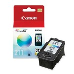 Canon CL211 Tri Color Ink Cartridge, 244 PaYield