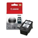 Canon PG210 Black Ink Cartridge, 220 PaYield