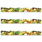 Trend Enterprises Vegetable Themed Trimmer, 12 Panels, 39'' Long
