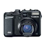 Canon G10ISPWERSHT PowerShot® G10 14.7MP Digital Camera, Black