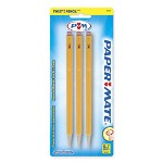 Papermate® Mechanical Pencil, .7mm, Twist to Advance/Retract Lead, Yellow