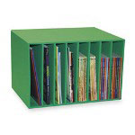 "Pacon Literature Center, 12 1/4"" x 17-3/8"" x 11-1/4"", Green"