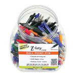 Zebra Pen Z-Grip Mini Ballpoint Pen, 1 mm Pen Point Size, Assorted Ink, 132 Display Box
