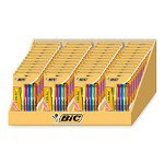 Bic Assorted Nontoxic Highlighters with Chisel Tip in a Display Box