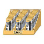 Bic Black Medium Point Retractable Ballpoint Pens in a Display Box, 1.0mm