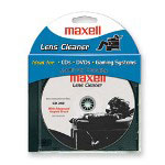 Maxell Lens Cleaner, for CDs/DVDs/Game Systems, Blue