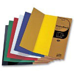 "Elmer's Single Ply Display Board, Corrugated, 36""x48"", 5/PK, Asst."