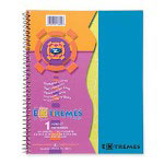 "Roaring Spring Paper Wirebound Notebook, 1-Sub, College Ruled, 100/Shts, 11"" x 9"" FL"