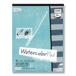 "Mead Embossed Paper, 9""x12"", 15 Sheets, Fade-resistant, White"