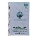 "Roaring Spring Paper Wirebound Notebook, 1-Sub, College Ruled, 80/Shts, 9-1/2"" x 6"" GY"