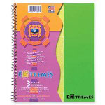 "Roaring Spring Paper Wirebound Notebook, 3-Sub, College Ruled, 150/Shts, 11"" x 9"" FL"