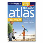 "Rand McNally Road Atlas 2010, USA/Canada/Mexico, 144 Pg, 11"" x 15-3/8"""