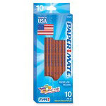 Papermate® Natural Wood Pencils, No. 2, 10/PK, Woodtone
