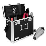 "Ideastream Locking Style Security Tote, 13""x6""x10-3/4"", Black"