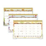 "Day Runner Monthly Desk Pad, Compact, 12-Mth, Jan-Dec, 17-3/4"" x 10-7/8"""