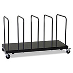 Ex-Cell Metal Kaiser Single Tier Carton Stand, Black