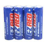 E-Z Red 24 AA Alkaline Battery (6 four packs)