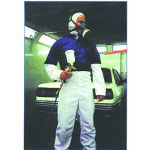 E-Z Mix Anti Static Spray Suit w/Hood, Large