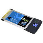 Linksys Wireless-G Notebook Adapter WPC54G - Network Adapter - CardBus - 802.11b, 802.11g