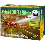 Jaton VIDEO-208PCI-128TWIN - Graphics Adapter - GF MX 4000 - PCI - 128 MB DDR