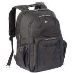 Targus CUCT02B Corporate Traveler Notebook Carrying Backpack, Black